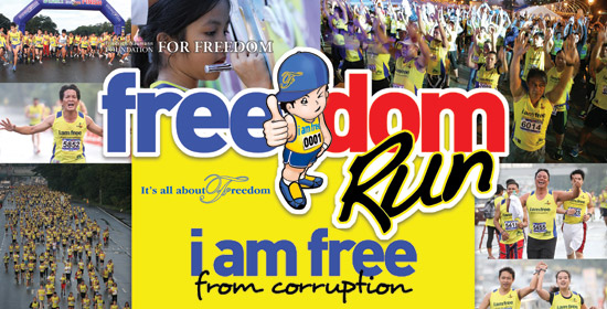 Anti-corruption Run Set on October 19